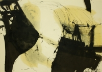 Tusche,Öl  64x45cm  2005