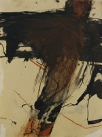Tusche,Öl,Pastell  42x32cm  2005